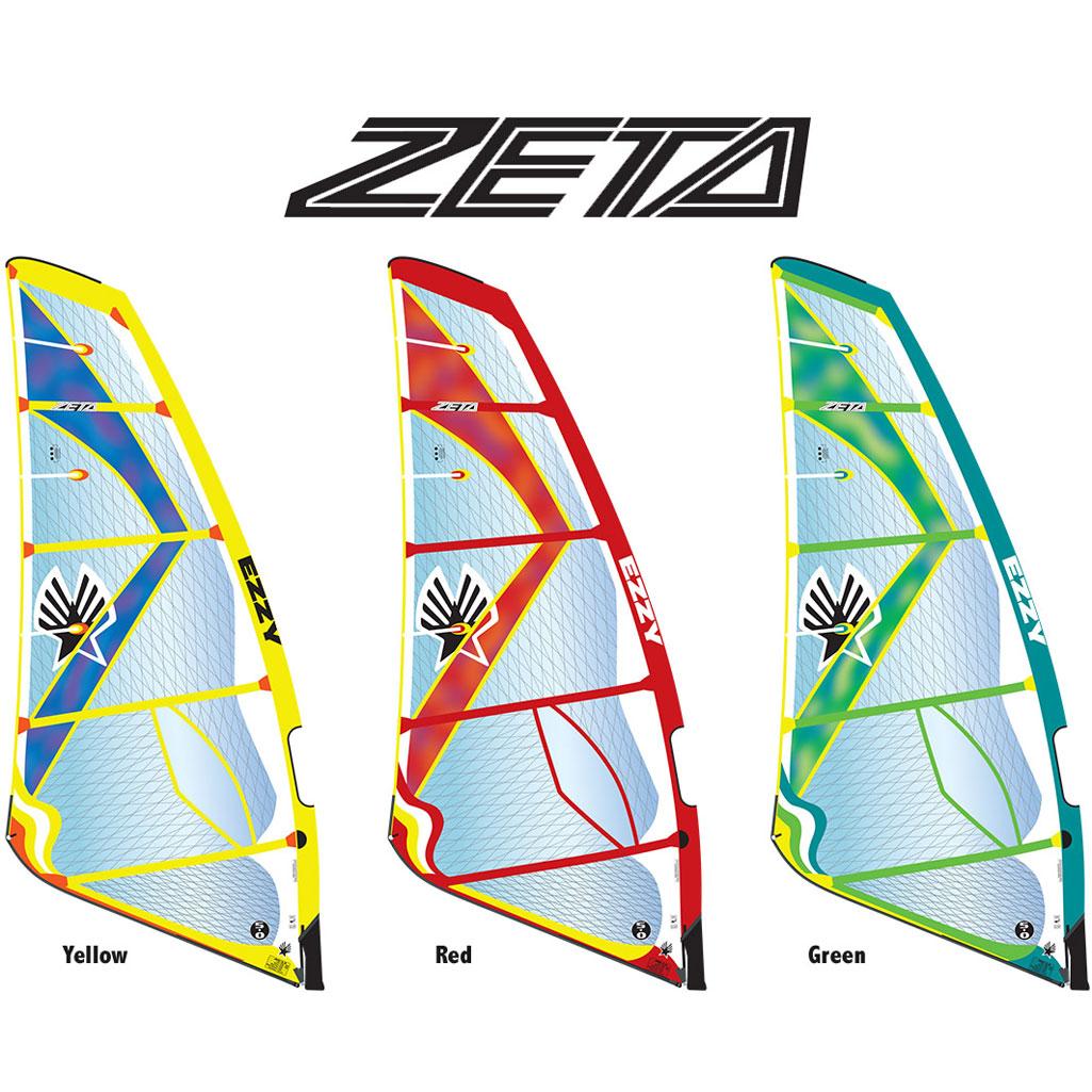 EZZY ZETA 2017 Windsurfing Sail Used