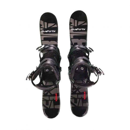 Snowblades and Snowboard Bindings Blk 75 cm 20-21