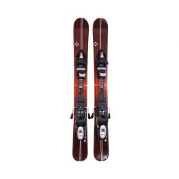 99-Titan-Fiveforty- Snowblades and Tyrolia Release Bindings Wood