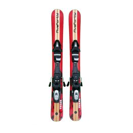 99 cm Titan Red Snowblades and Tyrolia Release Bindings
