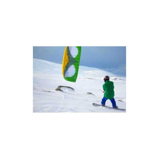 APEX-3 snow kite with depower