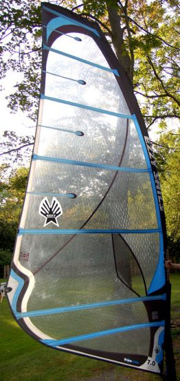 Ezzy Freeride 7.0 windsurfing sail