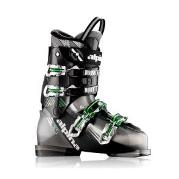 Alpina-5x Ski Boots Black Green