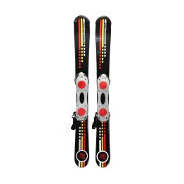 5th Element 99 cm Snowblades Non Release Black Red