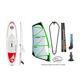 Bic Windsup Powerglide-std Windsurfing Windsup Package