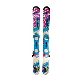 5th Element 99 cm Snowblades Non Release White Blue