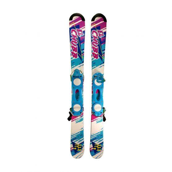 5th Element 99 cm Snowblades Non Release White Blue