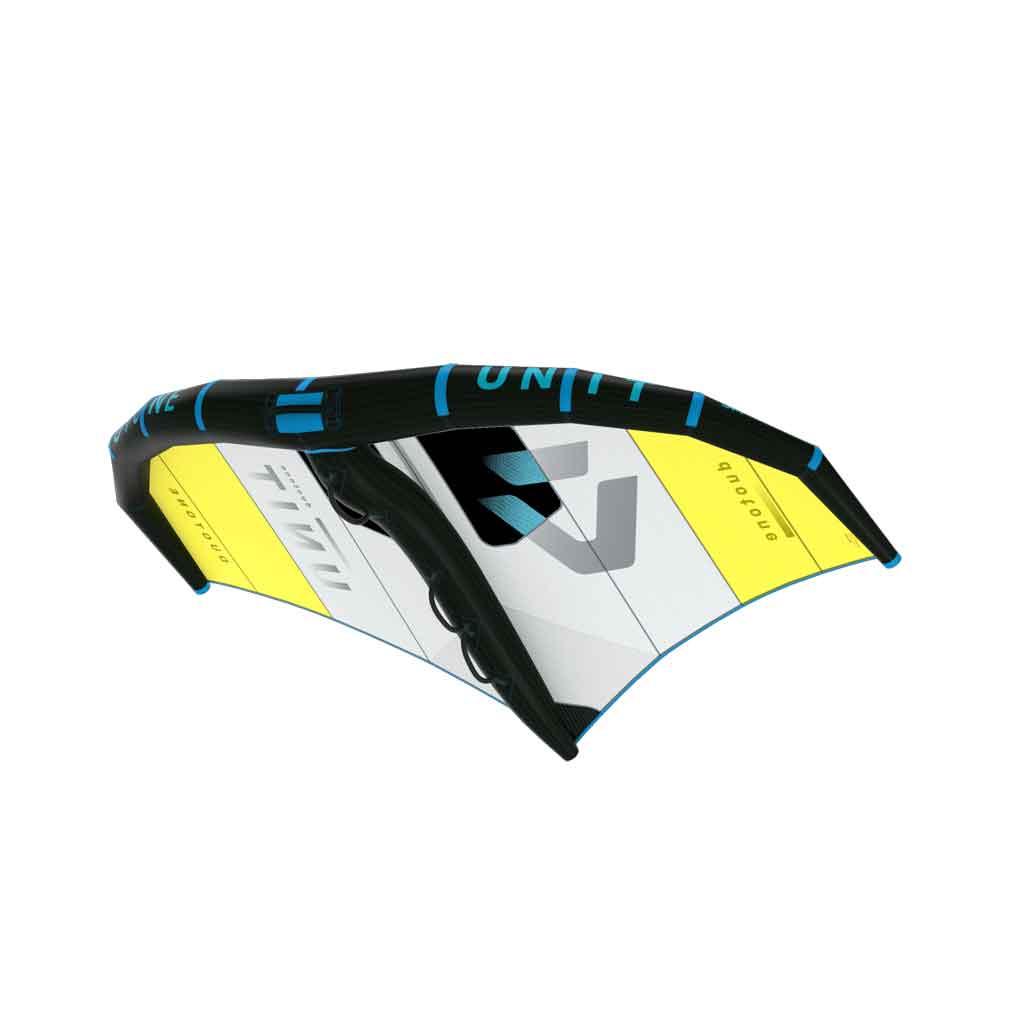 Duotone Unit Wave Downwind Freeride Yellow Gray