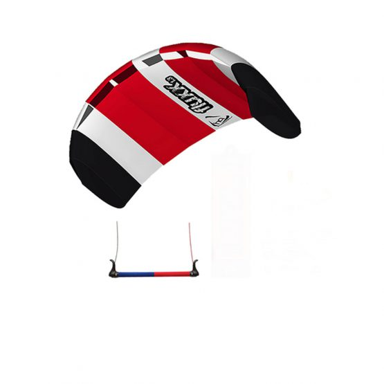 HQ training kite Fluxx-1.3-red