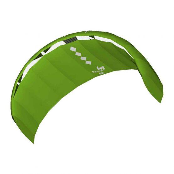 HQ4 Fluxx 1.8 Green Training Kite and Bar