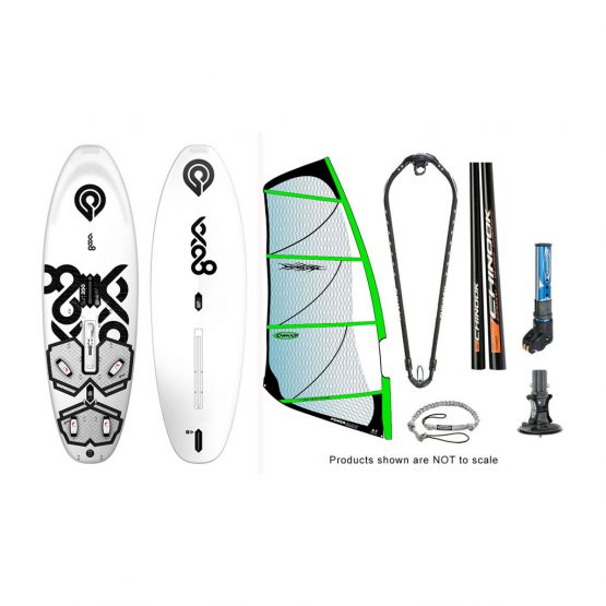 Goya Surf 200 Chinook Std Power Glide by Ezzy Windsurfing Package