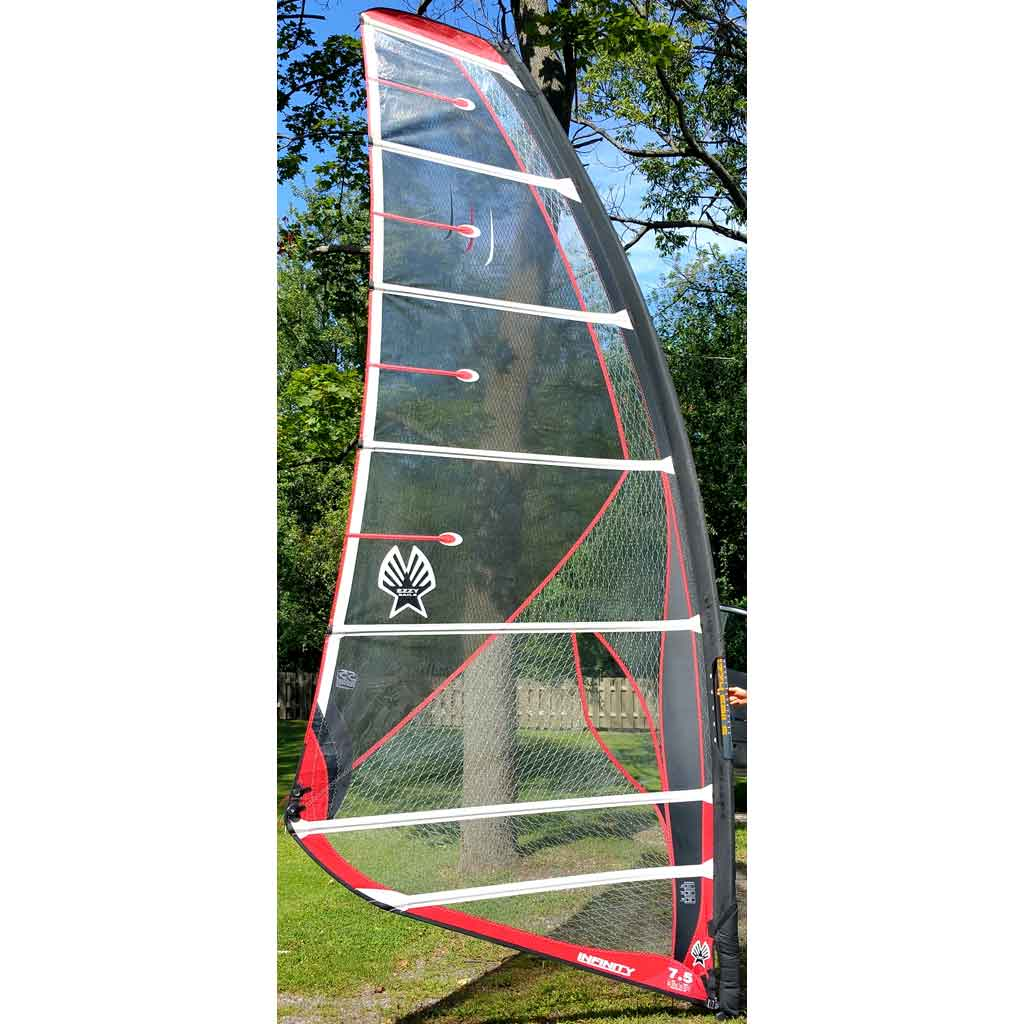 7 5 Ezzy Infinity Windsurfing Sail Used Curtis Sport