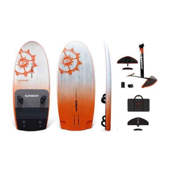 Foilboard Levitator-150 and 76 Infinity Foil Windsurf Package