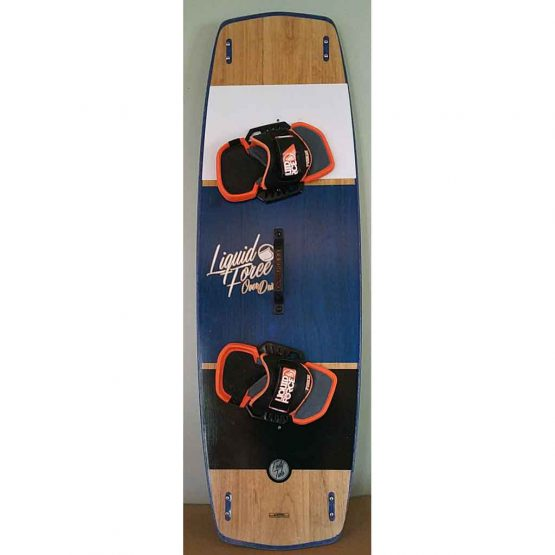 Over Drive 142-45 Twin Tip Kite Board by Liquid Force