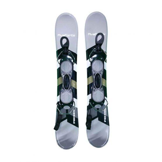 75-Phenom Snowblade Snowblades Non Release Bindings Gray