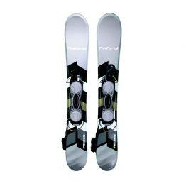 90-Phenom Snowblade Snowblades Non Release Bindings Gray