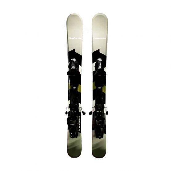 9-Phenom Snowblades and Tyrolia Release Bindings