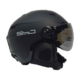 Poseidon Ski and Snowboard Helmet with Goggle Visor