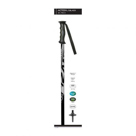 Ski-poles Fitzan Italian alum