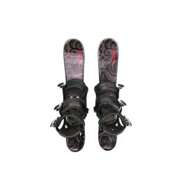 Snowblades and Snowboard Bindings Blk 75 cm 18