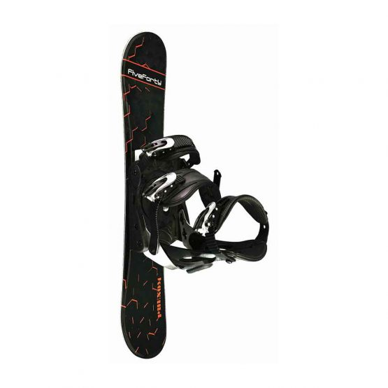 75 cm Phenom with Snowboard Binding Black 18-19 side