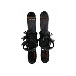 75 cm Phenom with Snowboard Binding Black 18-19