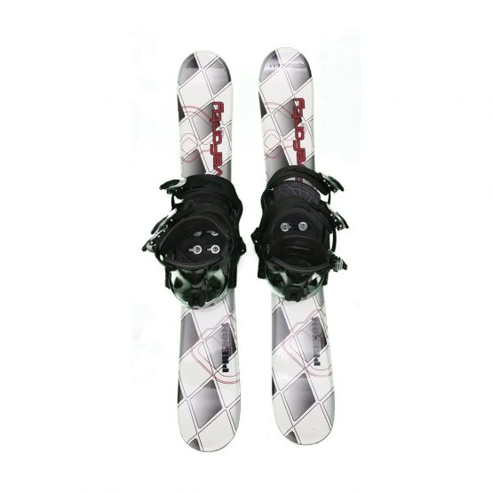 Snowblades Phenom-90 And Snowboard Bindings by Fiveforty