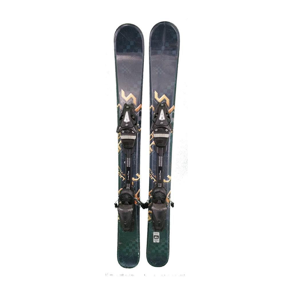 Snowblade 99 Cm Used Black Gold