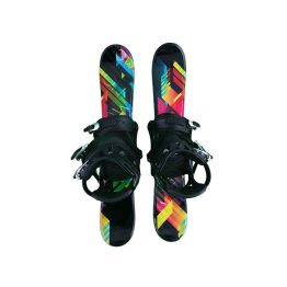 75-snowblades-snowboard-bindings black bright