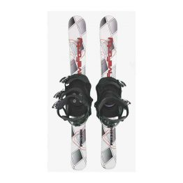 99 cm Phenom with Snowboard Binding White X