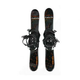 90 cm Phenom with 3 Strap Snowboard Binding Black 2019
