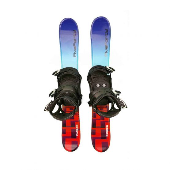 Snowblades and Snowboard Bindings Blue 90 cm 19
