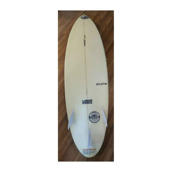 Liquid Force Surf Skate 5' 8 Kiteboard 3 trusters