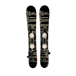 90 Titan Snowblades Non Release Bindings Black