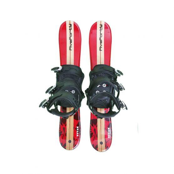 Snowblades and Snowboard Bindings Red 75 cm 19