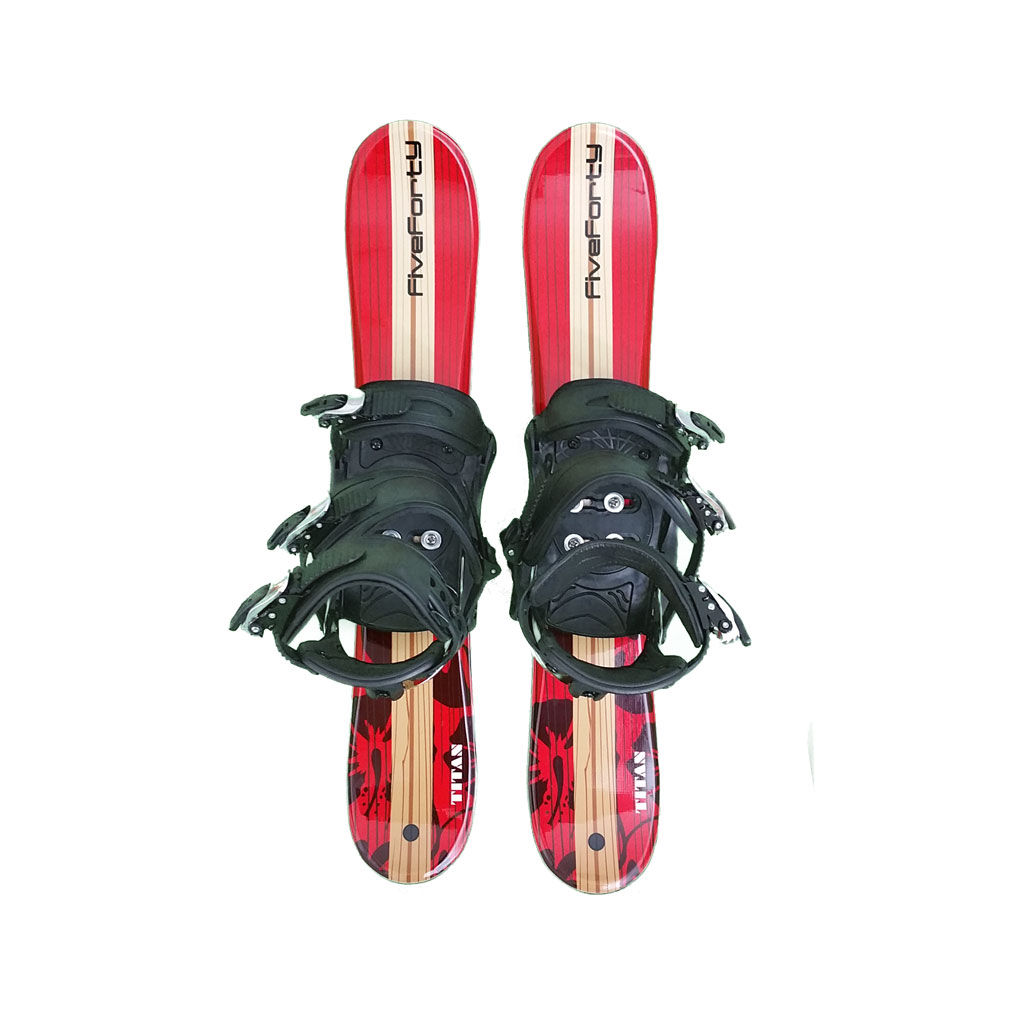 Snowblades and Snowboard Bindings Red 75 cm 19