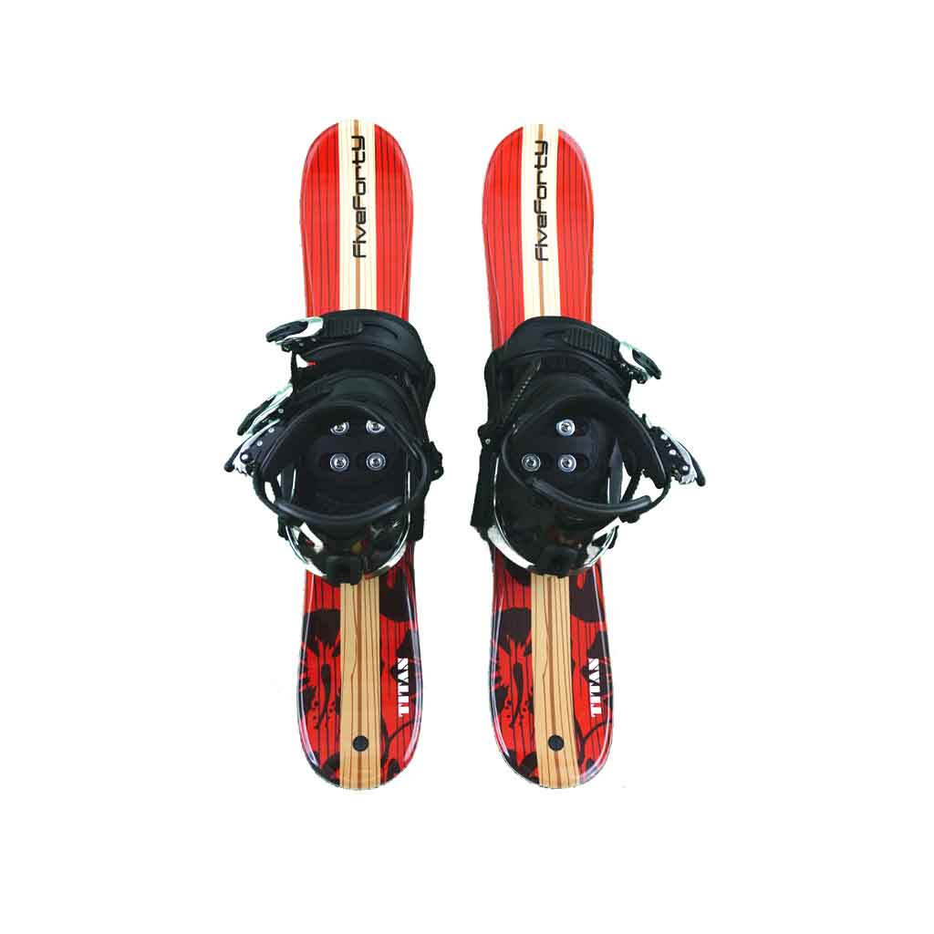 Snow Blades And Snowboard Bindings Titan Red 75 No Riser